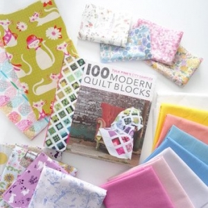 100 modern quilt blocks boek