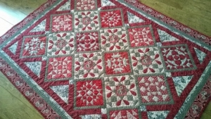 Quilt Day In Giverny